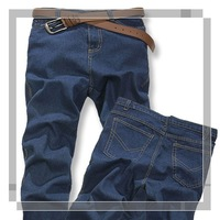 2012 summer new men's Fashion leisure straight jeans cotton jean pant for men, Wholesale and retail!