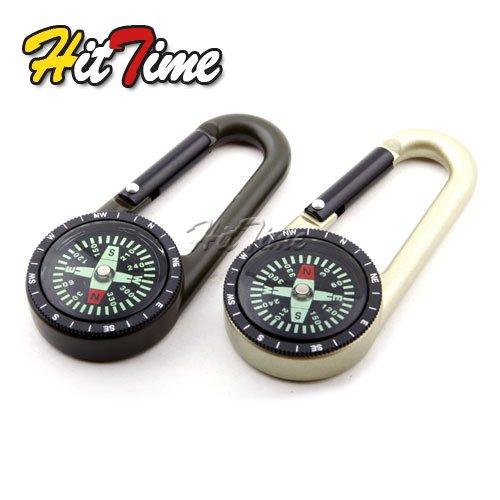 5Pcs/lot Keychain Camping Metal Compass Hiking Hiker Navigation Outdoor #1029(China (Mainland))