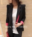 1 Piece Best Selling!!  Women Fashion Celebrity Candy Color Suit Blazer  women suit +Free shipping