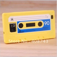 Factory promotional Silicone cassette tape case for Samsung i9300 Galaxy S3 Siii  multi-colors available