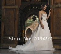 New fashion custom embroidered bridal