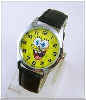SpongeBob SquarePants Child Boy Wrist Quartz Watch Wholesale Woman Man Lady Girl Boy Fashion