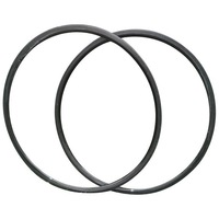 Hot Hot light 700c carbon tubular bike rim 24 glossy finish professional