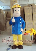 PROMOTION !!   fireman sam Fancy costume adult size lovely mascot costume cosplay free S/H