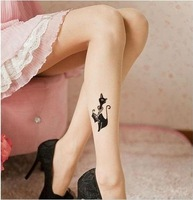 Cherry In The Eden, Free Shipping, 2012 New Arrival Anklet Tattoo Stocking, Tight Panty Hose, 3 designs