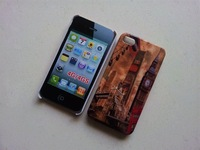 Free shipping,new style Eiffel Tower Big Ben case for iphone4/4s