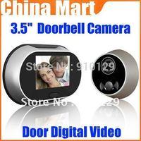 "3.5"" LCD Digital video doorbell Viewer Door Peephole Security Camera Monitor"