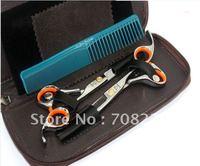 Free shipping  professional beauty scissors(2pcs/lot),JP440C 6inch or 5.5inch hair scissors
