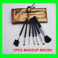 7 PCS Professional Makeup Brush sets, whole sale make up brushes kit+free shipping