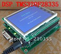 free shipping,DSP DSP28335 TMS320F28335 development kit, 3 board in 1, coreboard + mainboard + lcd board