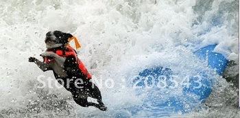 Free Shipping! MOQ: 1pcs, dog life jacket, swimming jacket for dog, floating jacket for pets, 3 sizes available