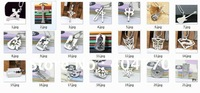 Fashion Men's 316L Titanium Stainless Steel Pendant Necklace Series Mix Order Products Link 30pcs/lot