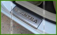 высокое качество abs с 2pcs хромированная боковой двери Зеркало Обложка защиты для hyundai elantra