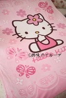 Hello Kitty Soft Coralon Velvet Blanket For Air-Condition Room--Christmas Gift Novelty Toy
