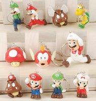 NEW Super Mario keychain figures lot of 11pcs