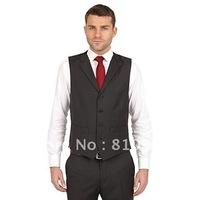 brown vest designed!custom made suit for men wedding/dinner,2012 newest style,