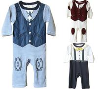 [E-Best] Retail 1 set baby boys cartoon dog suits short sleeves T-shirt+short pants 2 colors clothing sets E-SSR-004