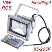 NEWEST 10W multi-colors LED Landscape Lighting Waterproof RGB LED Floodlights 900LM LED flood light  AC85-265V
