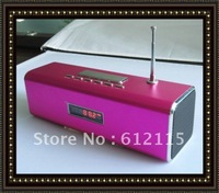 car Mini subwoofer, mini portable speaker, MP3 Speaker with U-Disk+SD/TF card+FM,TT2B Speaker for notebook,pc,mp3/p4/p5