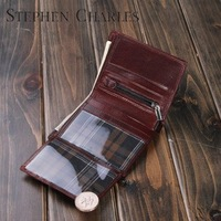 New Brand/free shipping / compact wallet/small hip wallet/ wallet men/brand wallet  W12QB0004