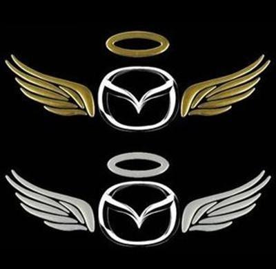3D Eagle wings car stickers  Eagle Wings Car Logo