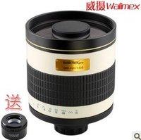 walimex 800mm F/8.0 DX telephoto lens,walimex 500mm 1:8.0 DX Tele M. Lens,manual focus