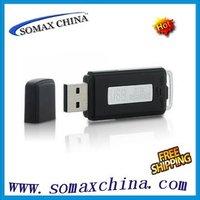 2 in 1 Mini 4GB USB Pen Flash Drive Disk Digital Audio Voice Recorder 70 Hours Recording Dictaphone