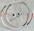 "1pair New VEETOKA VT30 XC clincher Mountain bike wheel bicycle wheels set 26"" white"