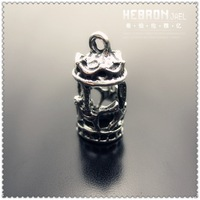 Min order $10(Mix order)Tibetan Silver(5PCS) Jewelry Accessory Merry-go-round Charms(3803#) 9*19 mm