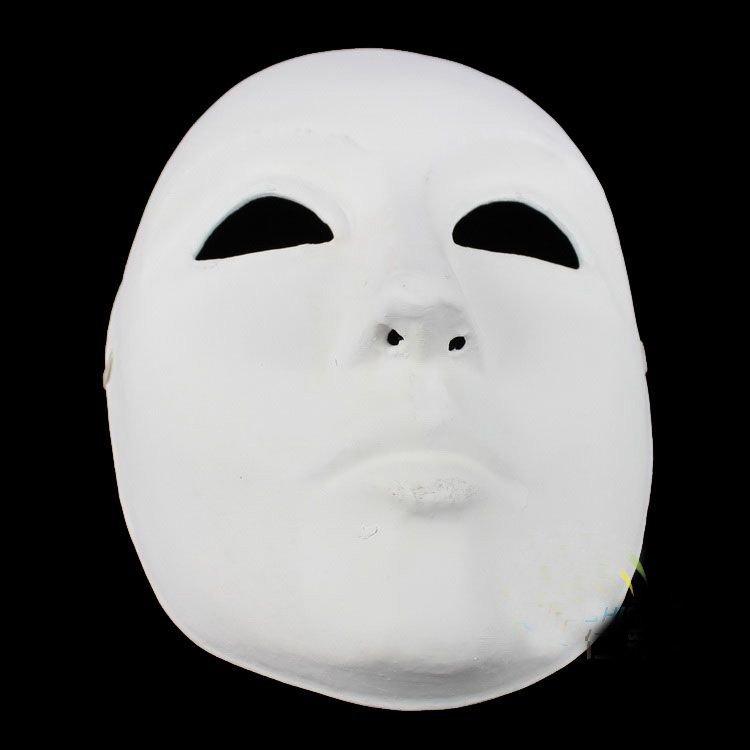 Paper Face Mask Masks Decorations Paper