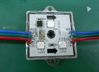 LED digital module,WS2811IC 5050 3LEDS;DC12V input,waterproof,20pcs a string