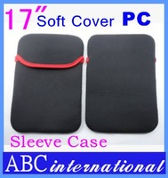 Hot Sale 17 inch Laptop Neoprene Sleeve Notebook Pouch Case Bag Proteck PC Computer Free Drop Shipping