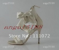 Sex appeal Free shipping with bowknot Women's high heel pumps shoes