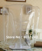 transparent MANNEQUIN clear TORSO FORM inflatable male Torso Form Mannequin Photography  props TABLETOP Clothing Display Form