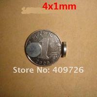 500pcs/Pack  Super Powerful N35 NdFeB magnet Neodymium Magnets D4*1mm /Free Shipping