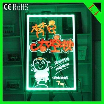 Alibaba Express  L4 (50*70cm)   Acrylic led display Board led tablet advertising led panel