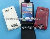 100pcs/lot Flip PU Leather Case for Motorola Defy MB525 ME525