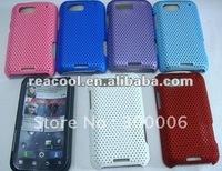 100pcs/lot Mesh Net Hard Back Cover Case for Motorola Defy MB525 ME525