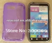 100pcs/lot S Line TPU Gel Case for Motorola Defy MB525 ME525
