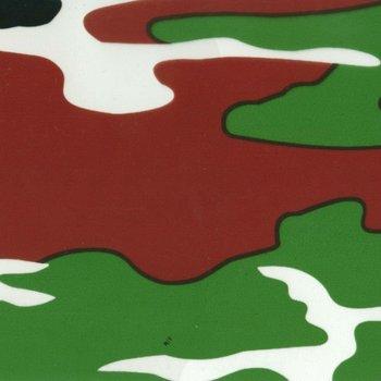 Camo Water Transfer Printing Film- Green Army Camo 100CM WIDTH