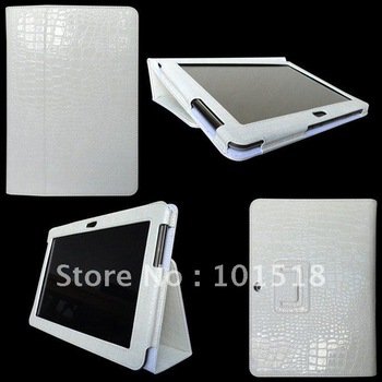 "Leather Case Cover Skin For Samsung GALAXY Tab 2 P5100 10.1"" Tablet  Croco style"
