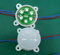 DC12V WS2811 pixel module, with 6pcs 5050 RGB SMD LED,45mm diameter,20pcs a string