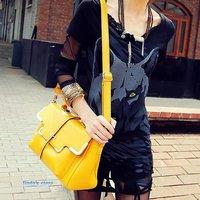 Korean version of the shoulder bag mobile pu handbag