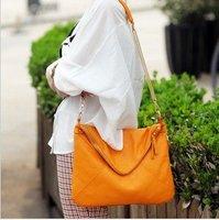 European and American street fashion chain envelope package retro shoulder pu handbag