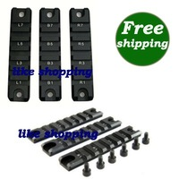 3PCS Picatinny Rail Set for G36 G36C series Black