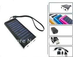 Free shipping USB Solar Battery Panel Charger for Cell Phone MP3 MP4# 8117(China (Mainland))