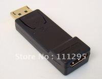DisplayPort to HDMI female adapter
