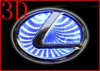 3D Car logo Light For Lexus GS300 Car Badge Light Auto Led Light Auto Emblem Led Lamp Car Logo Led Light