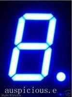 0.8'  7 segment Blue LED display common anode 1pcs