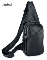 New Arrival Free shipping Hot sale men genuine cowhide leather backpack boys travel sling bag  3048